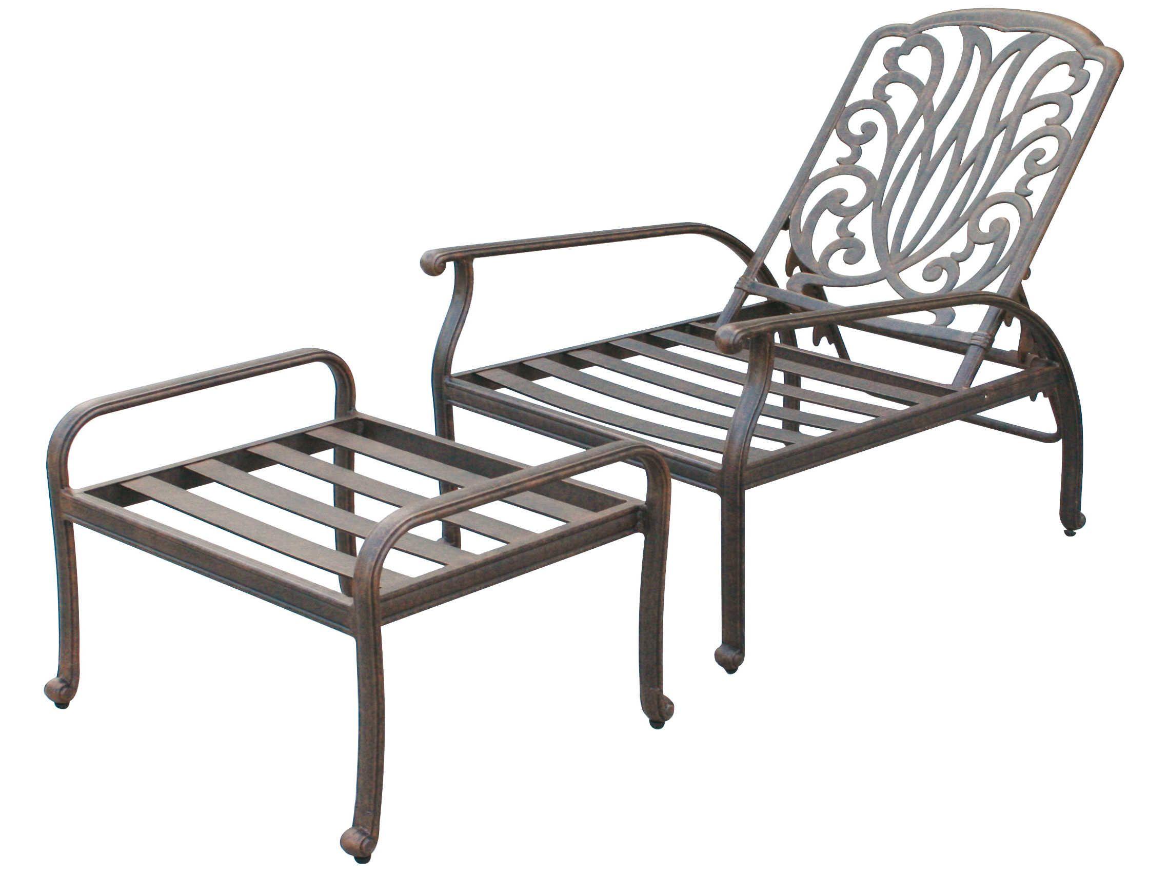 Swell Darlee Outdoor Living Standard Elisabeth Cast Aluminum Andrewgaddart Wooden Chair Designs For Living Room Andrewgaddartcom