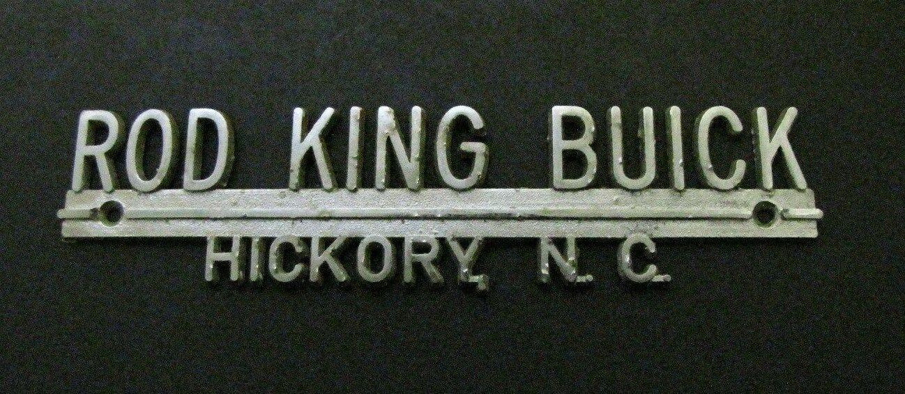 Rod King Buick Dealership, Hickory, North Carolina