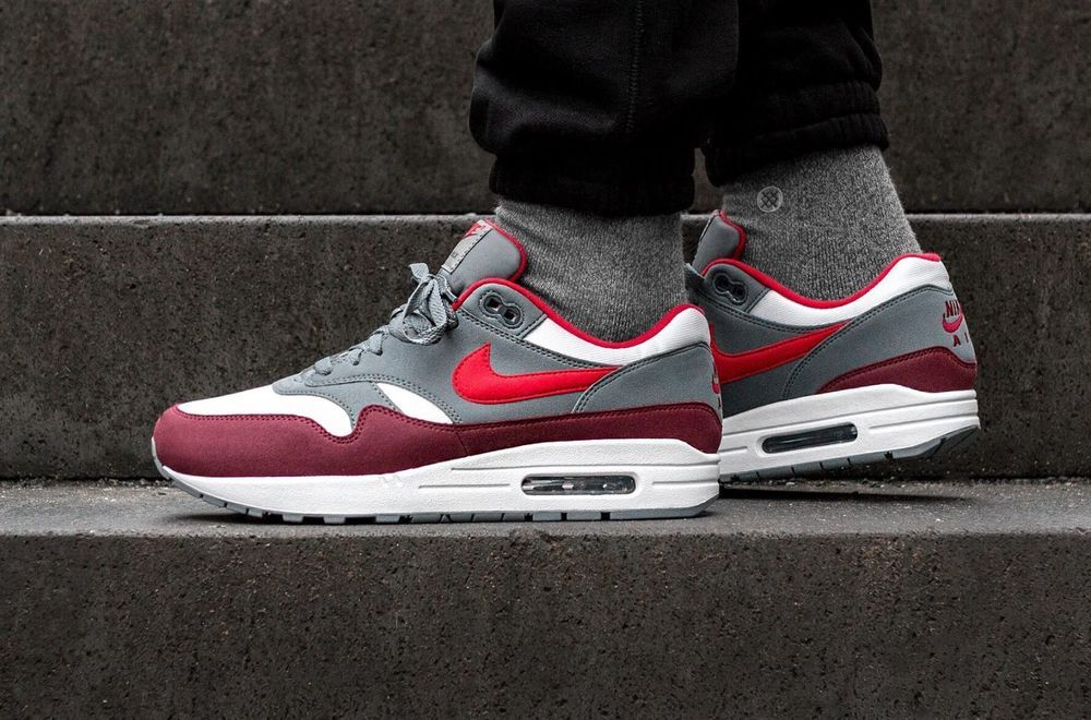 separation shoes a6f1f 49255 ... shopping nike air max 1 university red white grey ah8145 100 ds  trainers 486ed b035b denmark ...