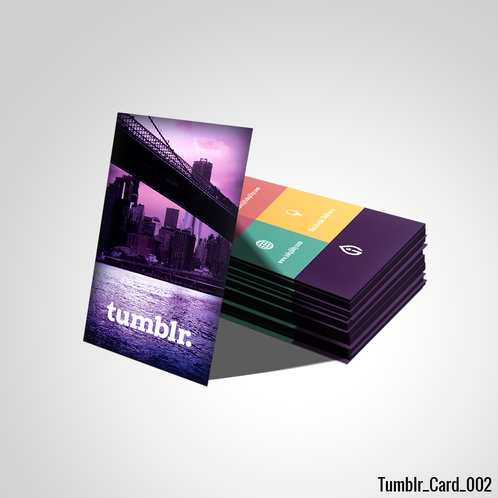 Tumblr Business Card | Tumblr Standard Business Cards | Pinterest ...