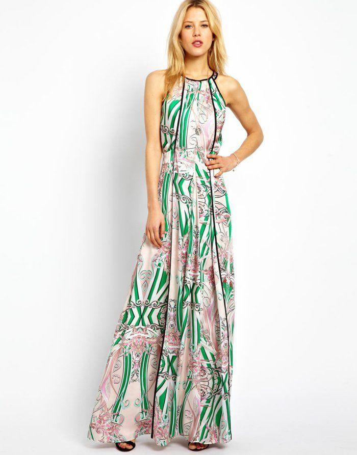La robe longue d\u0027été , 65 belles variantes , Archzine.fr