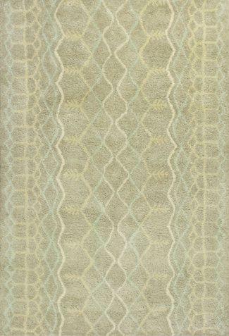 Jason Tan Geometric Wool Hand-Tufted Area Rug