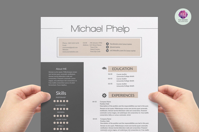 Creative professional resume templates beautiful