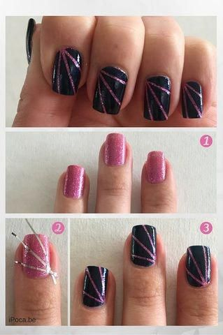 natural gel nails robust and fine it's possible  tape