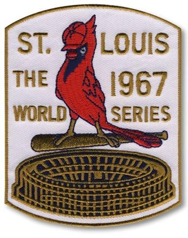 1967 World Series St. Louis Cardinals MLB Baseball Patch Cooperstown Collection: