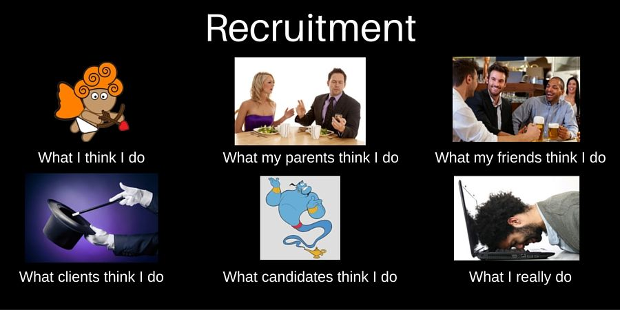 Meme Human Resources: What Do People Think Recruiters Do? Read What Sophie