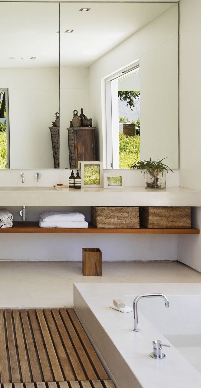 Chic Wood Bathroom Accessories Colorful Architecture