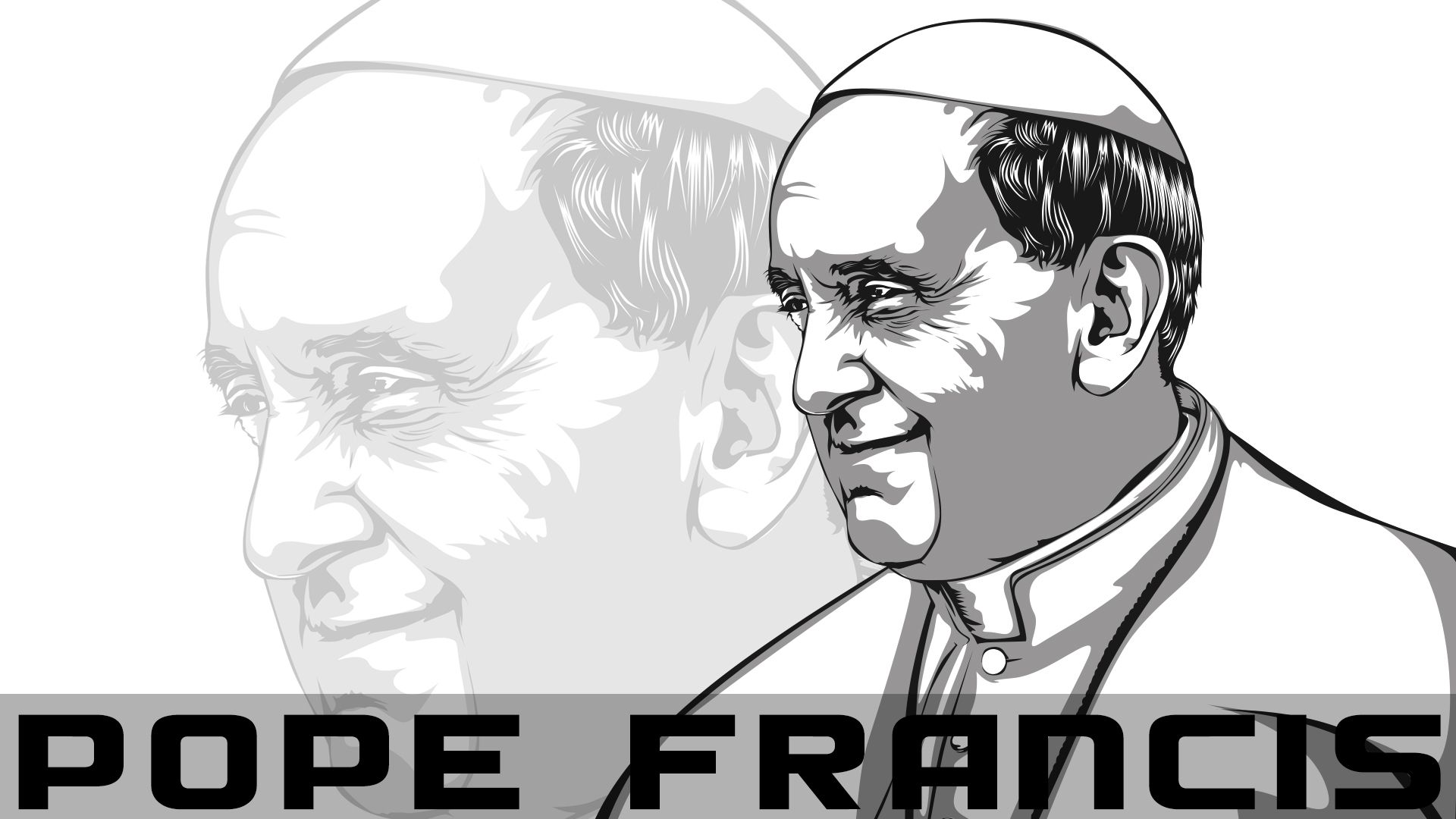 Vector artwork :) POPE FRANCIS