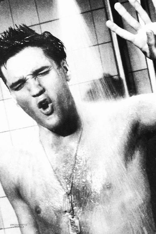 """Elvis in """"G.I. Blues"""", 1960."""