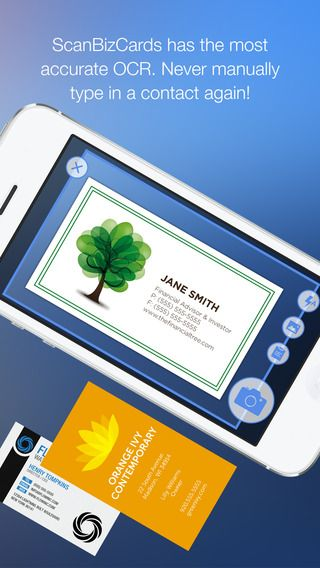 Scanbizcards Lite Business Card Scanner Reader The Only