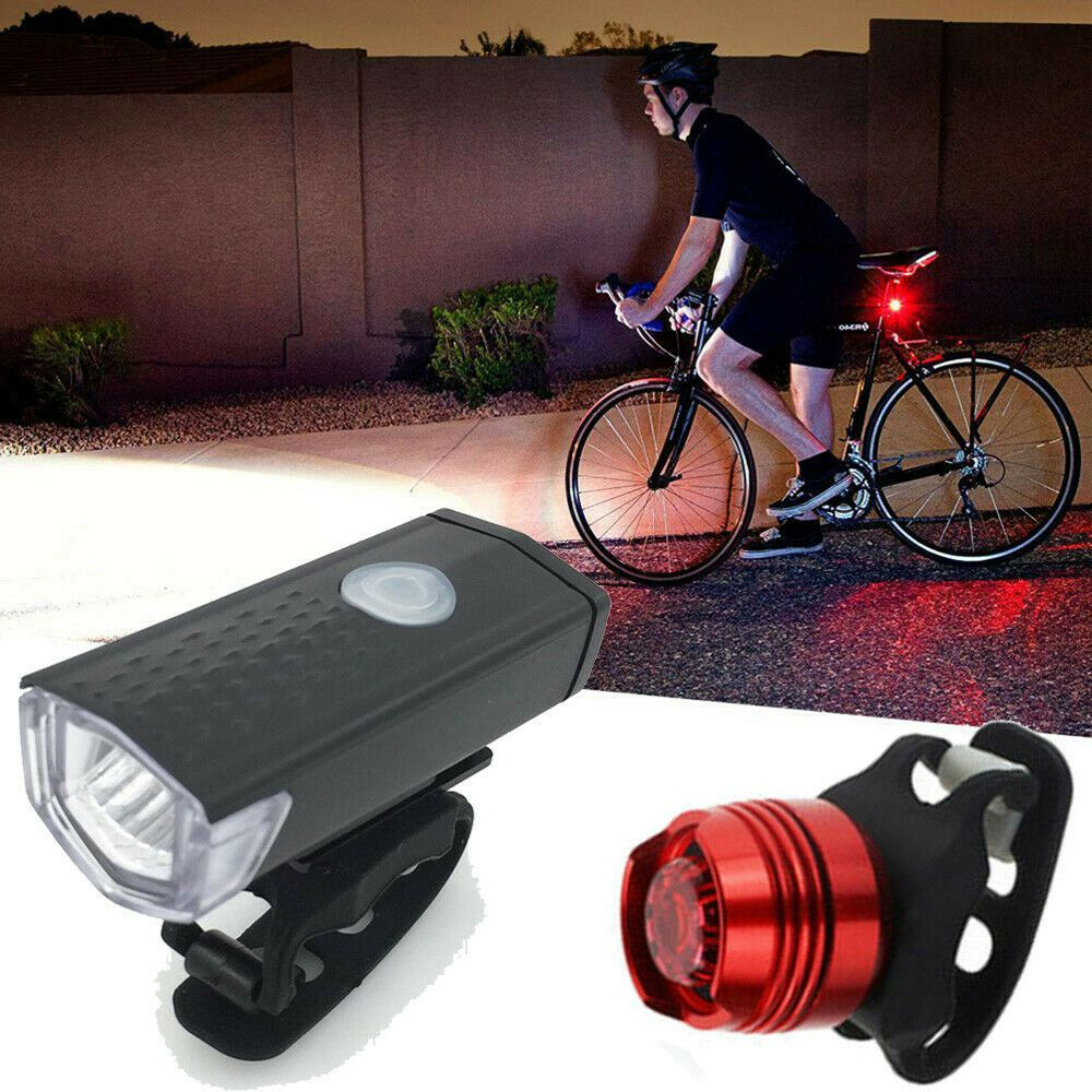 Leadbike Bicycle Hot Wheels Spoke Lights Night Riding USB Rechargeable Bike Lamp
