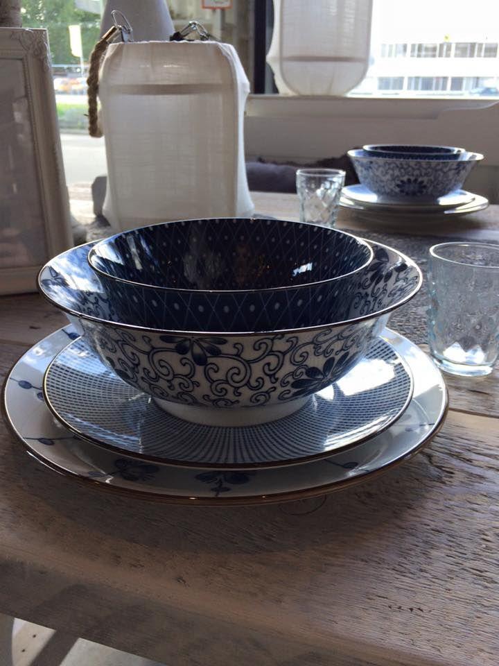 blauw riverdale servies te koop bij meubels en meer   meubels en