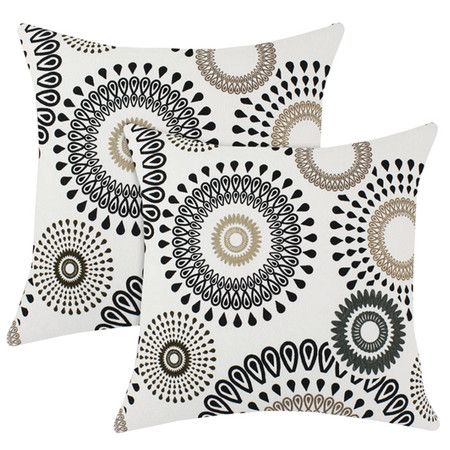I pinned this Radius Pillow in Black (Set of 2) from the Global Inspiration event at Joss and Main!