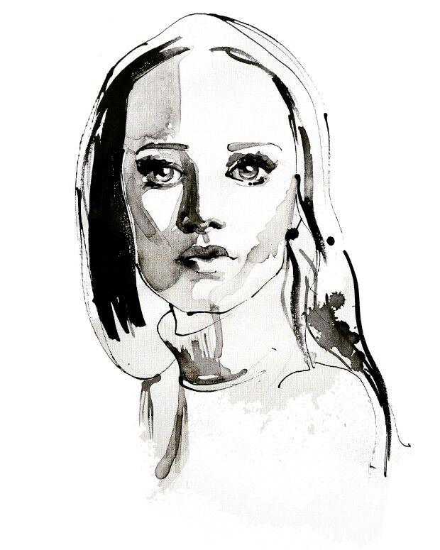 Fashion portrait by Paulina Jasniak