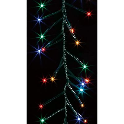 Light Ropes And Strings Mesmerizing Illuminations 60Count 491Ft Constant Multicolor Mini Led Copper