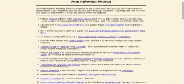 Find Free Textbooks Online | books | Free textbooks, Math