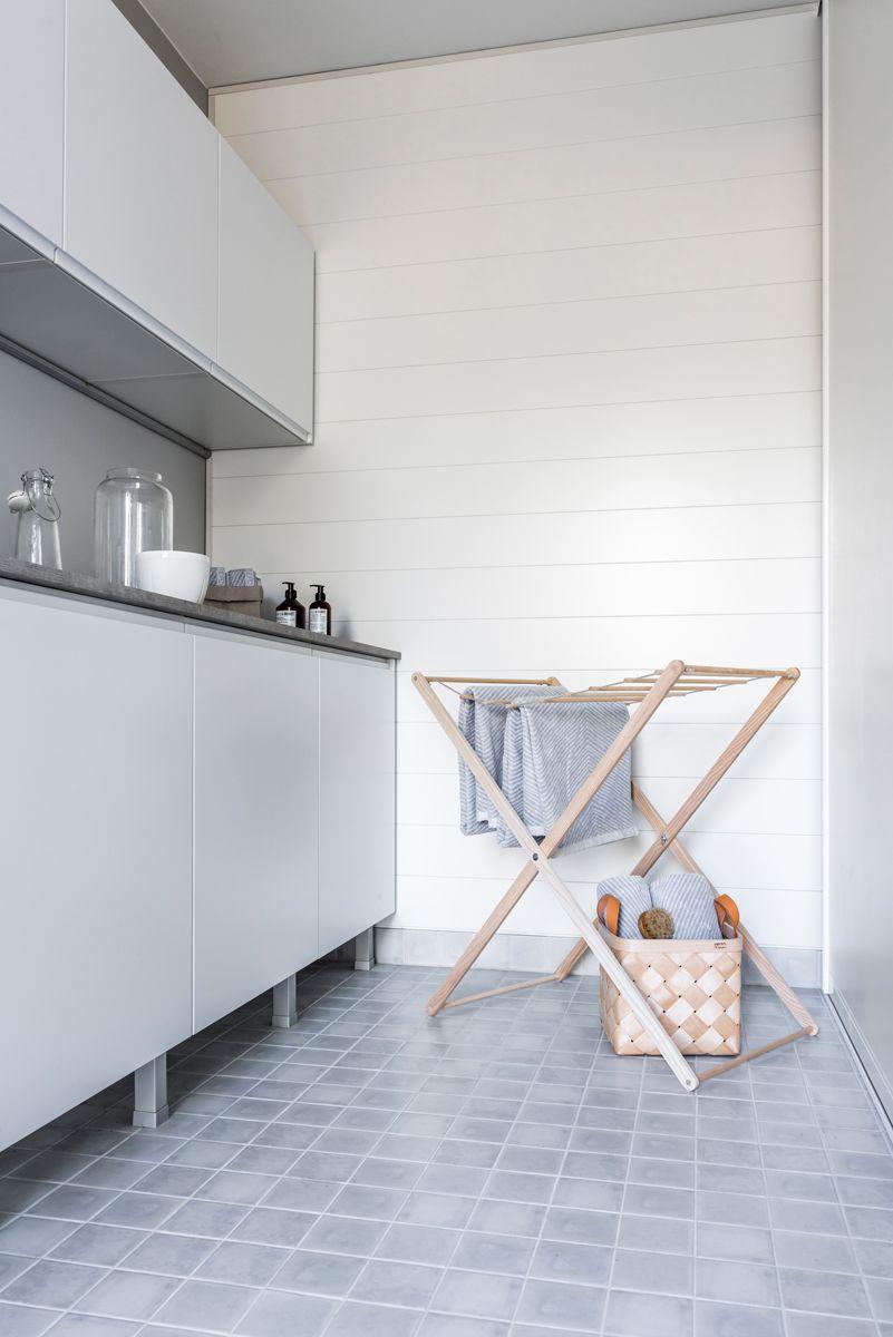 10x10 Laundry Room Layout: Hartman Koti Ruutu. Lattiassa Factory White Himmeä 10x10