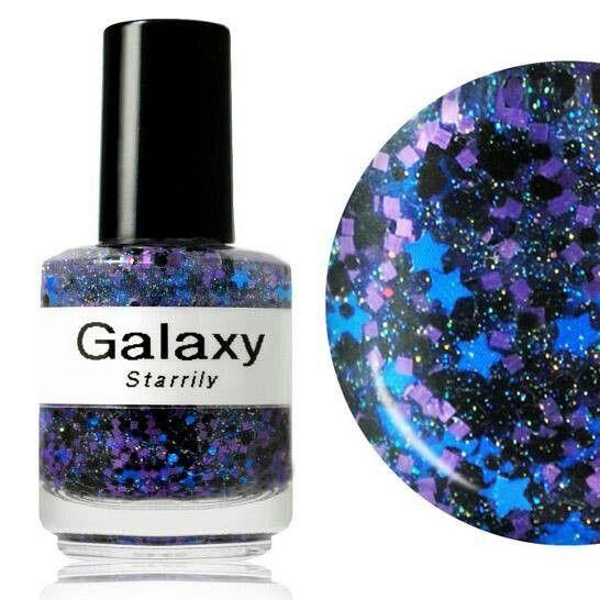 NEW Galaxy Nail Polish:    http://www.shanalogic.com/handmade-nail-polish-galaxy.html