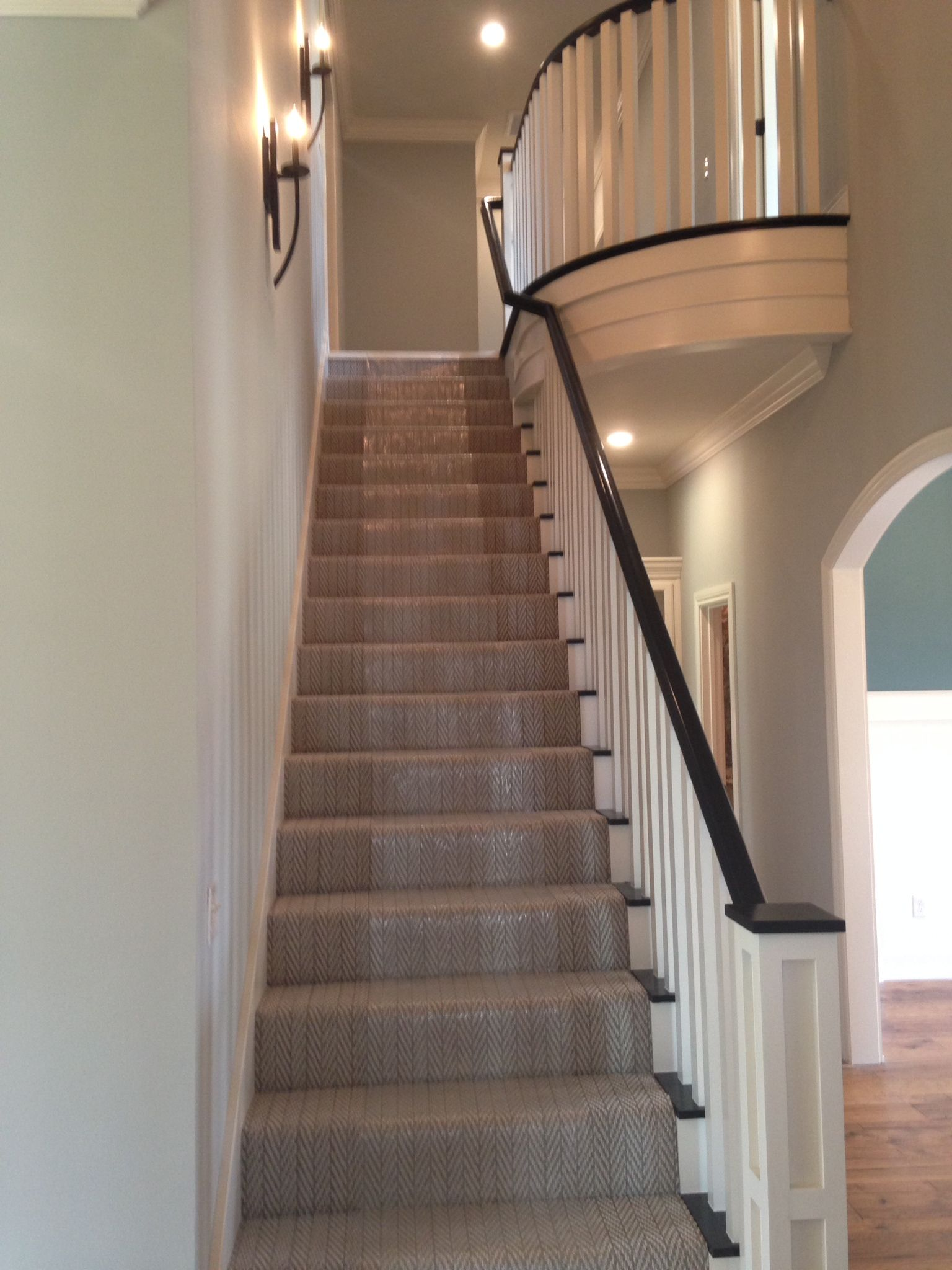 Elegant A Gorgeous Installation Of Only Natural On The Stairs! Herringbone Carpet  From Tuftex Carpets Of