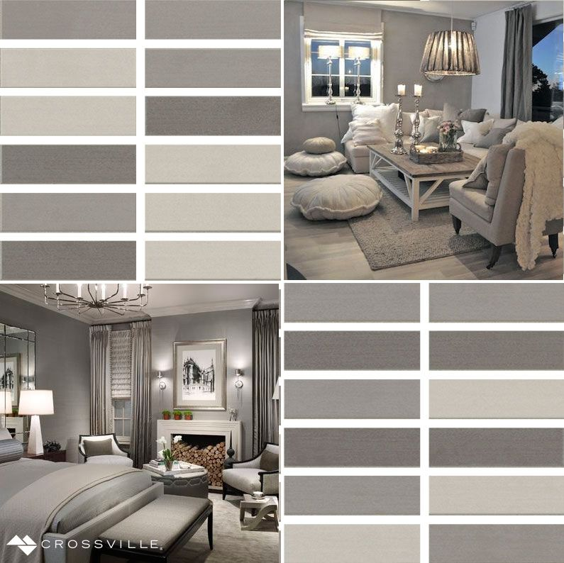 """We're celebrating the the beauty between black and white this#MosaicMondaywith our Shades porcelain tile mosaic in """"Cool Grays.""""Love what you see? You can easily order your free samples right here:http://bit.ly/2taoXA5"""