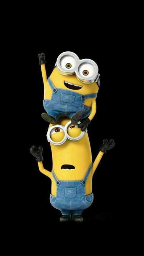 Picture Of Cool Couple Minion Minion Minionphotos Gambar Minion Di 2019 Minion Gambar