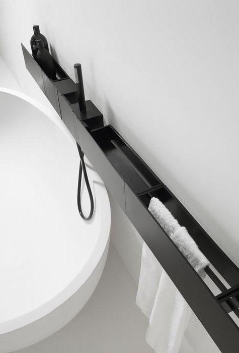 """Ausschnitt aus der Agape-Kollektion """"Das moderne Bad"""". Ihre Entwürfe sind al ……"""