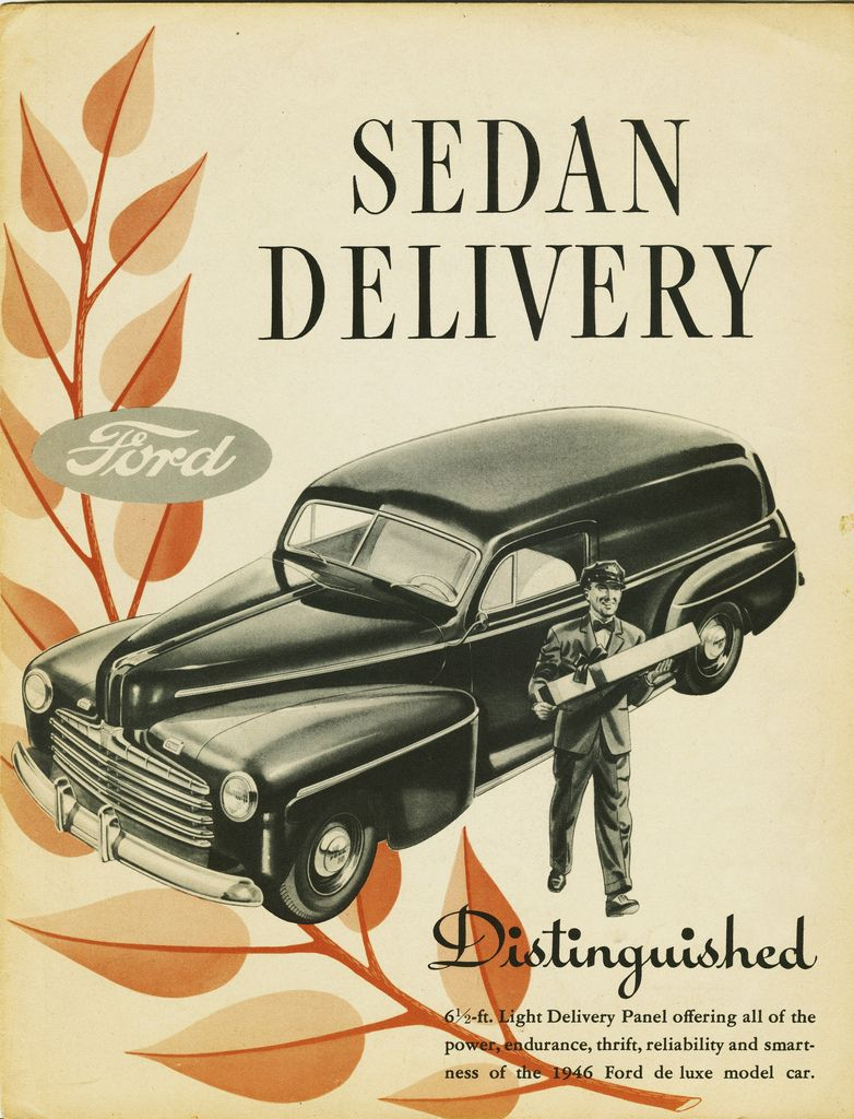 All sizes | 1946 Ford Sedan Delivery Brochure | Flickr - Photo Sharing!
