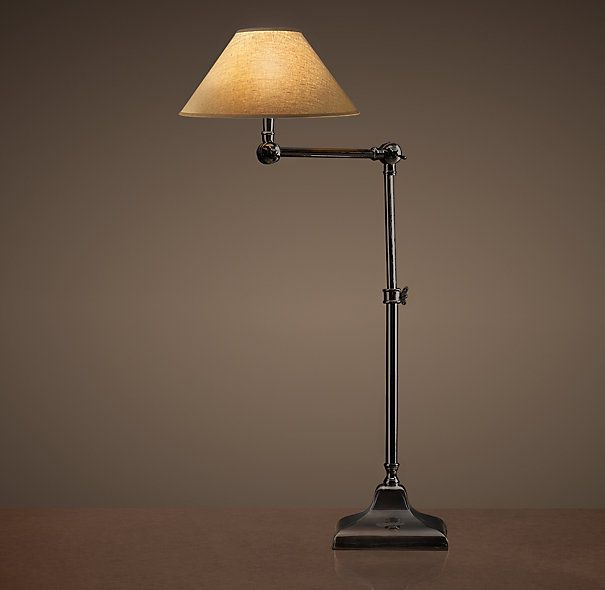 20th C. Parisian Telescoping Table Lamp Bronze | Classic ...