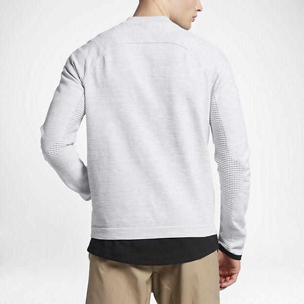 Nike Sportswear Tech Knit Men's Jackets White/Platinum/Wolf Grey/Black