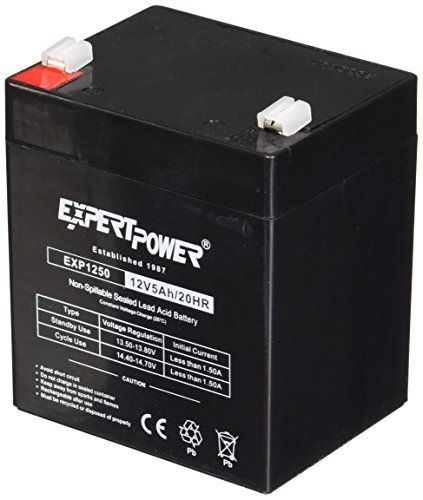Expertpower Exp1250 12v 5ah Home Alarm Battery With F1 Terminals Check Out The Image By Visiting The Link With Images Home Alarm Alarm House Supplies