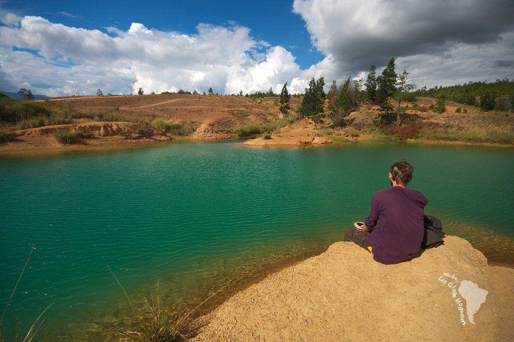 Villa de Leyva dinosaures, eau turquoise et muisca