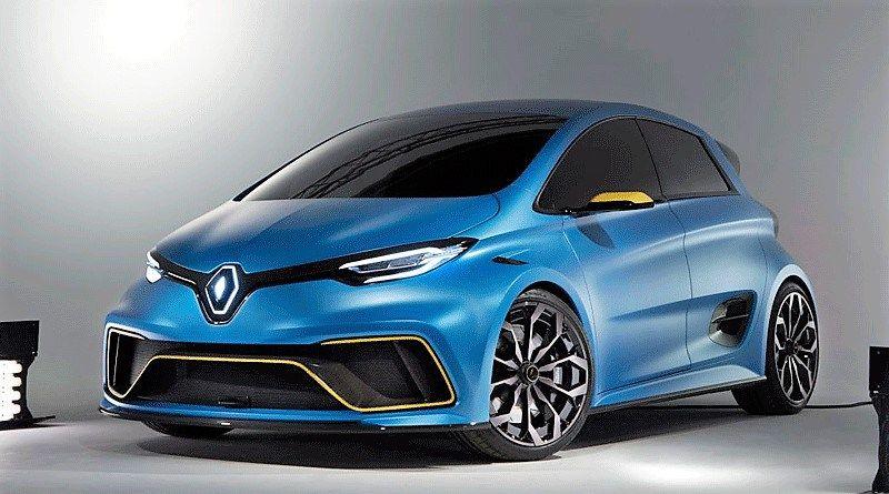 Renault ZOE e-Sport Concept en Ginebra: http://automagazine.ec/