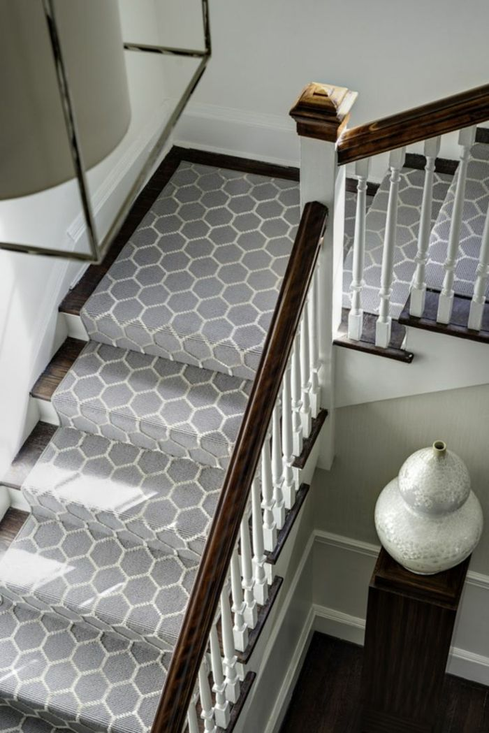 Le Tapis Pour Escalier En 52 Photos Inspirantes Staircase Ideas