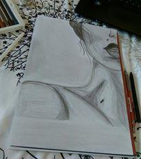 Bianca E. Balaban, o artistă extrem de talentată și pricepută. Pencil Sketch