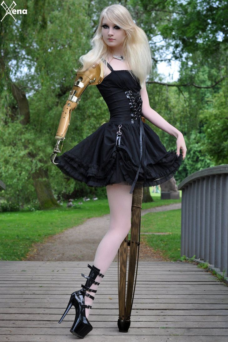Ampwom gothic amputeexenales | gothic fashion, gothic outfits