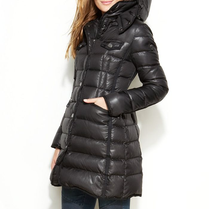 Vince Camuto Hooded Quilted Puffer Coat | Moncler, Vince camuto ... : quilted puffer coat - Adamdwight.com