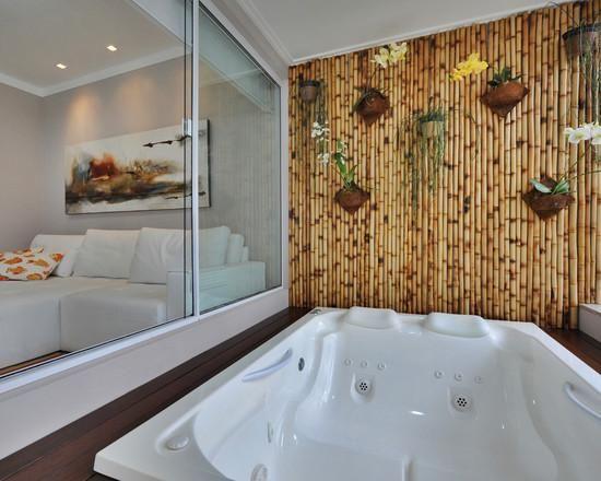 Na jacuzzi Bamboo indoor Pinterest Bamboo ideas, Jacuzzi and House