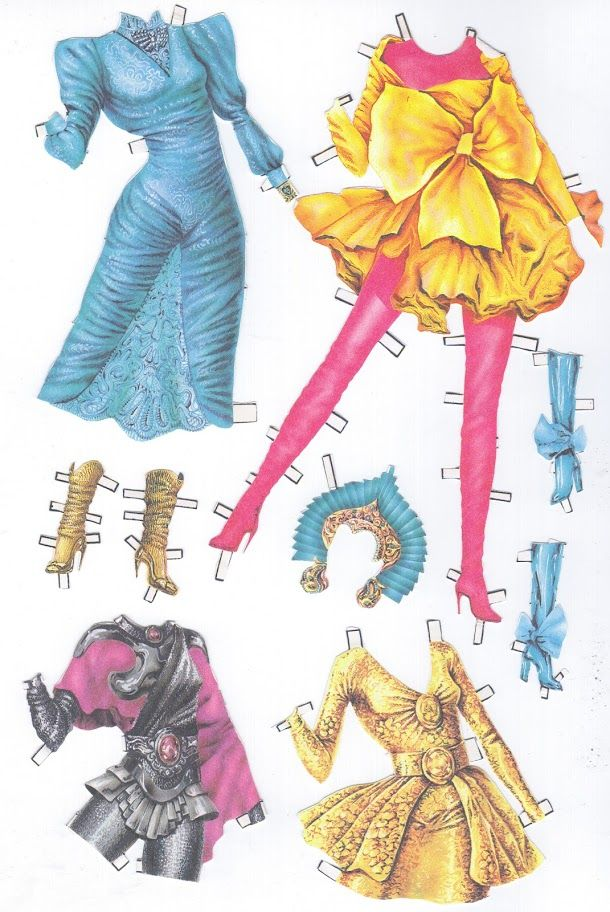 My 90s paper dolls - scanny3 - Álbumes web de Picasa