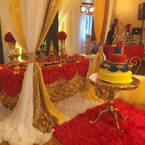 Classic Snow White Birthday Party Dessert Buffet Snow White