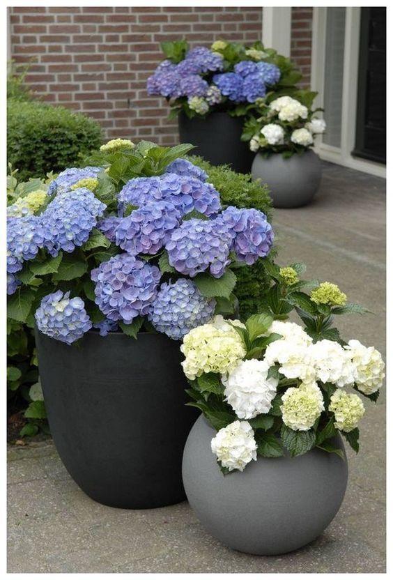 10 Best Diy Ideas To Decor Front Yard With Planters In 2020 Garden Pots Diy Garden Pots Backyard Landscaping