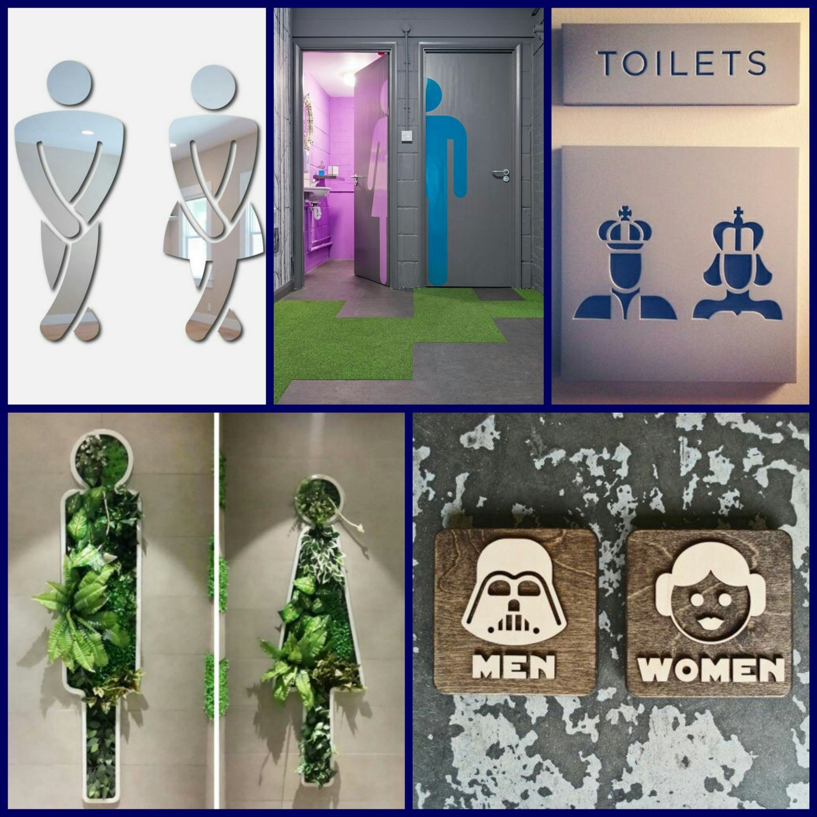 Funny Bathroom Signs Restroom Restroom Signature Wc Signs