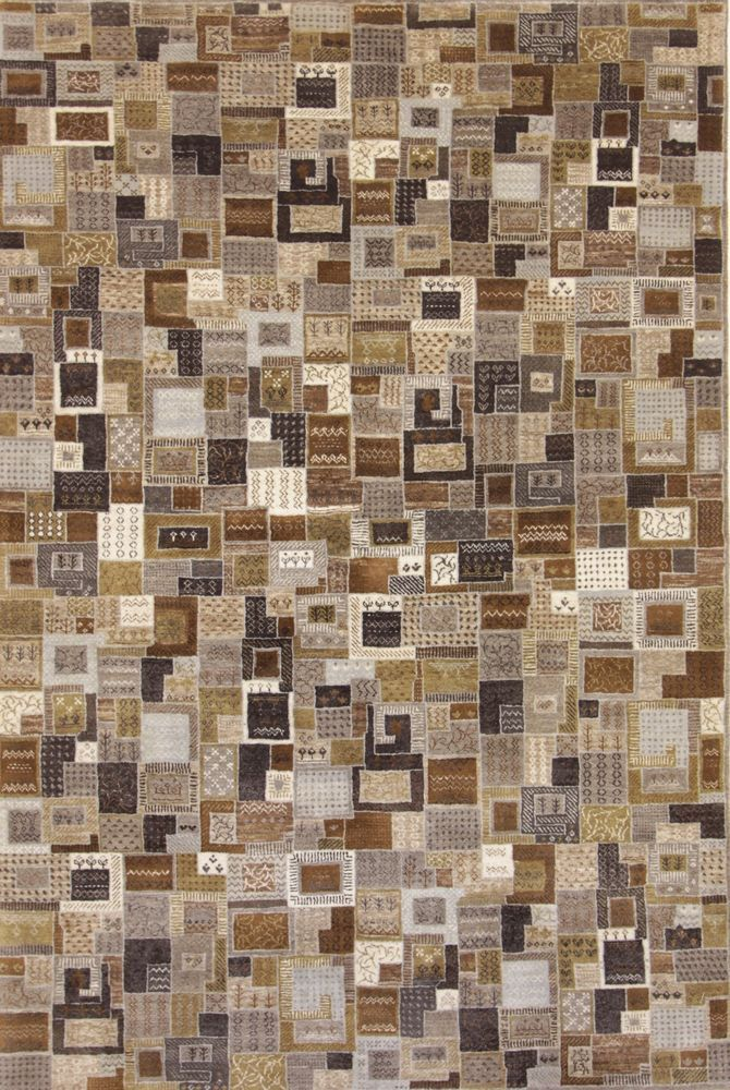 Loribaft Handgeknüpft Teppich Modern oriental 246 x 165 cm