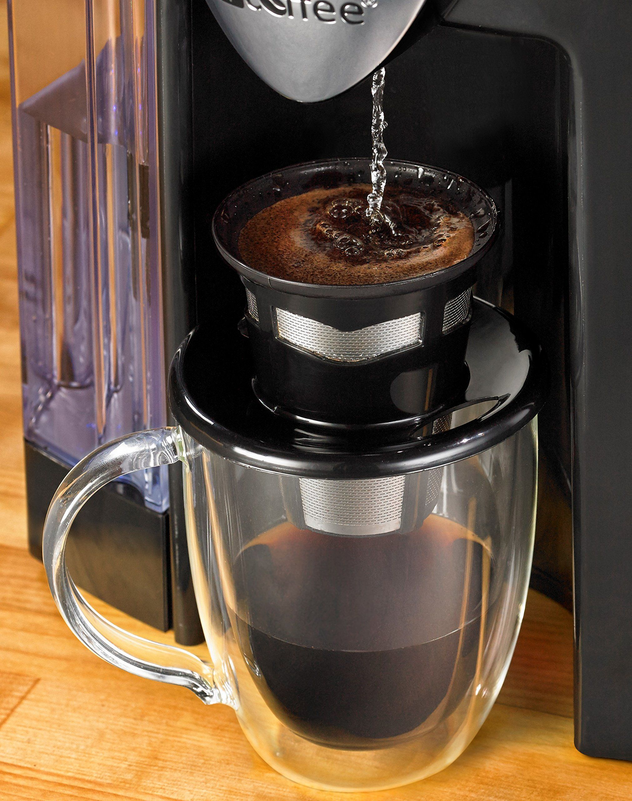 Java Concepts Reusable Kcup Pour Over for Keurig 1.0, 2.0
