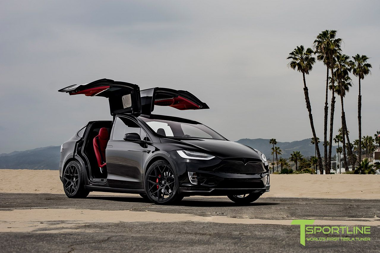 Custom Black Model X Pd  E  A In Customization  E  A Chrome Delete   E  A Mx Forged Wheels  E  A Carbon Fiber Sport Designed Front Apron