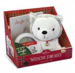 The Hallmark Jingle Husky Pup Interactive Storybook Buddy is one of the hottest gifts for children this year. This adorable Husky pup plush responds...