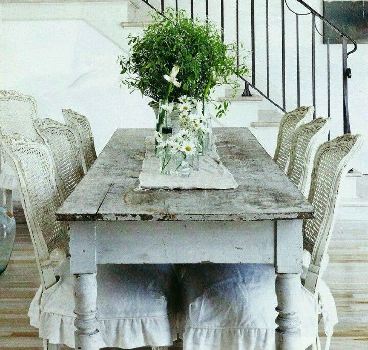 Do My Table Like Thisadorable Whimsically Single Living Interesting Shabby Chic Dining Room Table Design Inspiration
