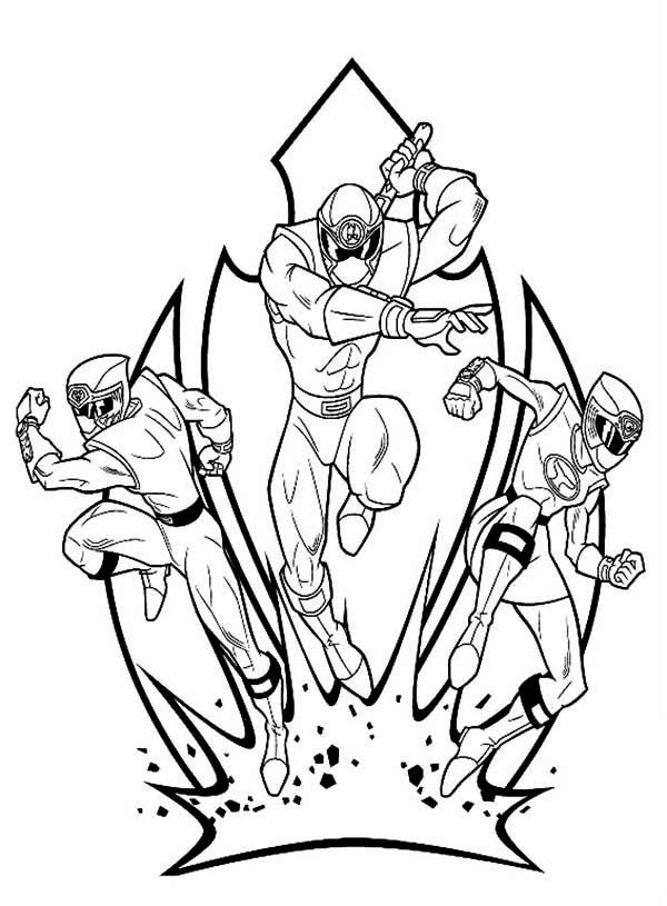 power rangers kid coloring pages - photo#41