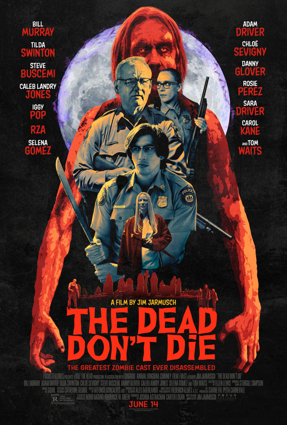 The Dead Don T Die 2019 Zombie Movies Zombie Danny Glover