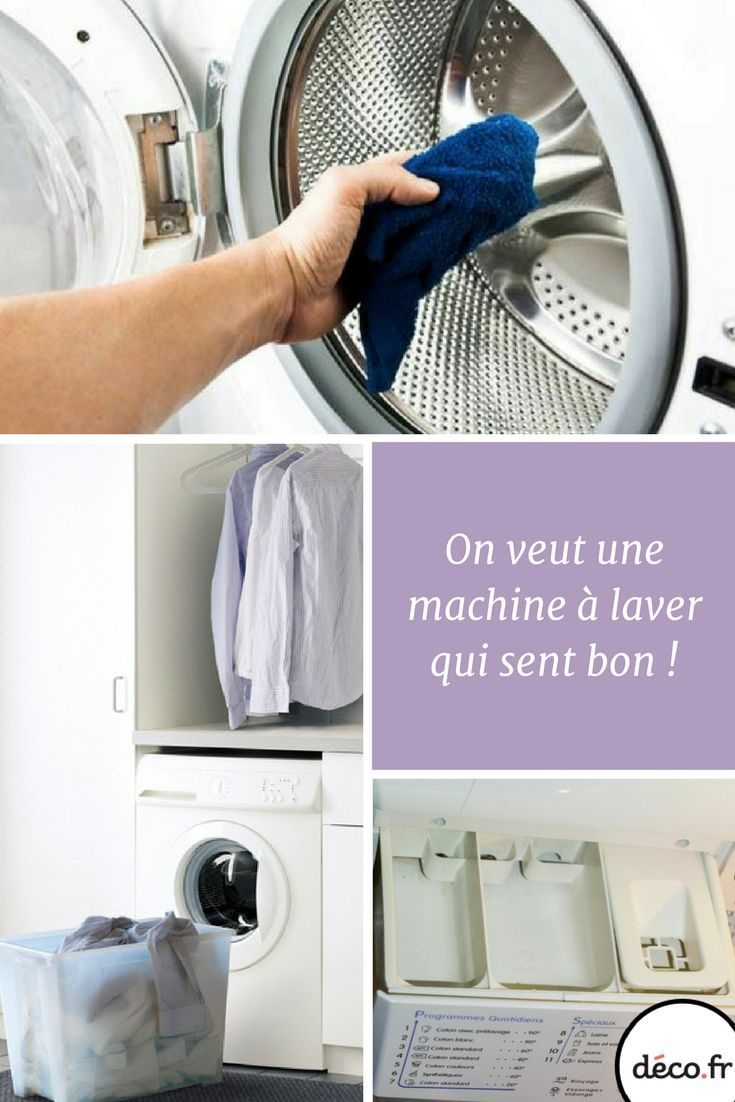 How to avoid bad smells in the washing machine en 2020