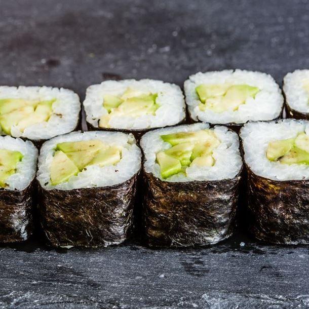 Makis de jambon et avocat au wasabi | Recette ...